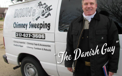 michael baun - the danish guy - bauns chimney sweeping