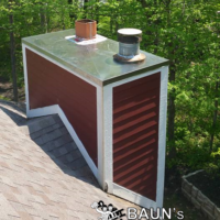 bauns rusty chimney cover repair