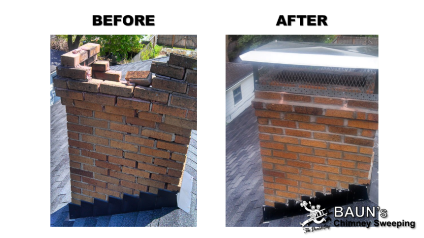 fire brick repair before and after
