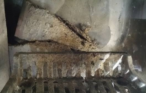 Fireplace Panel Replacement