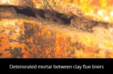 deteriorated-mortar-between-clay-flue-liners