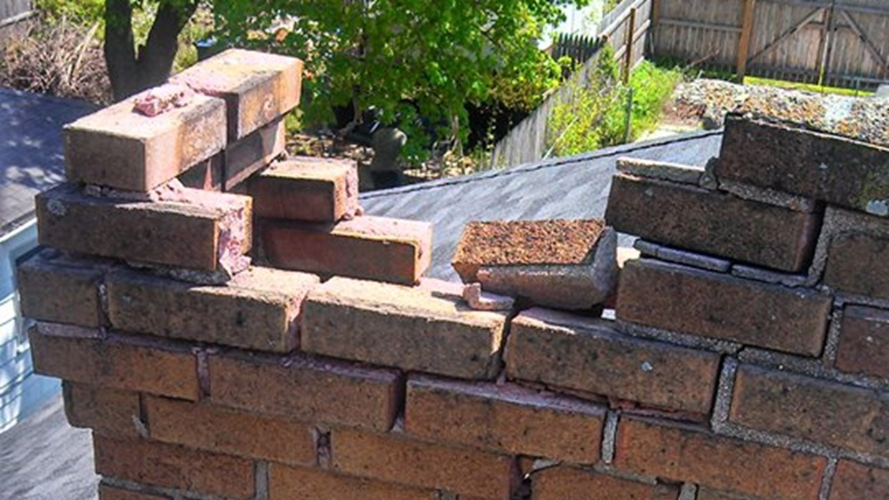 chimney fire brick repair