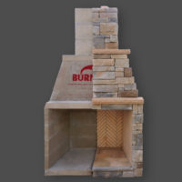 indianapolis outdoor fireplace installation