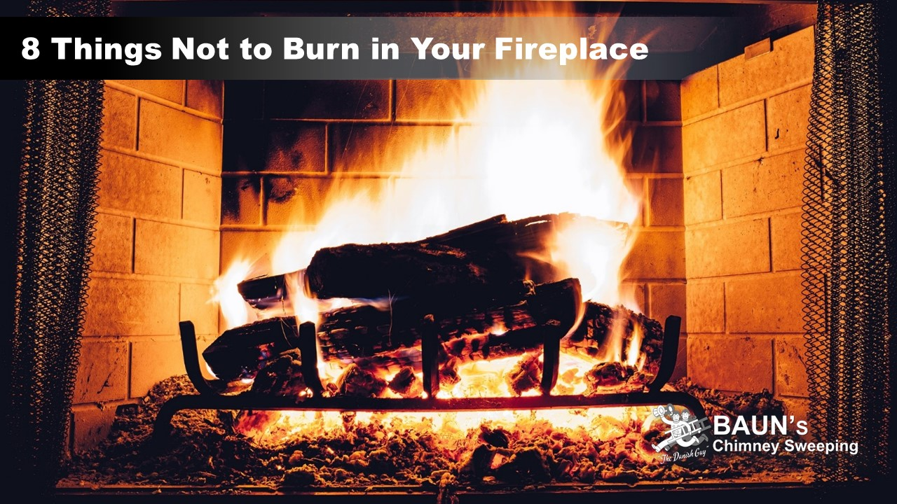 8 Things Not To Burn In Your Fireplace
